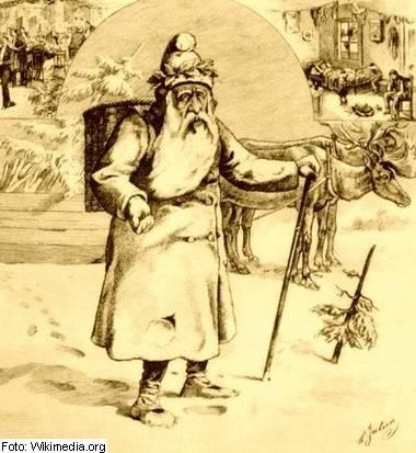 miklavz, bozicek, dedek mraz