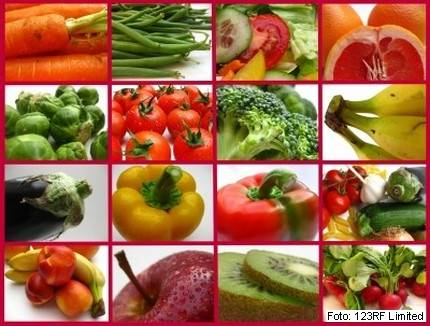 zdrava hrana, zelenjava, sadje