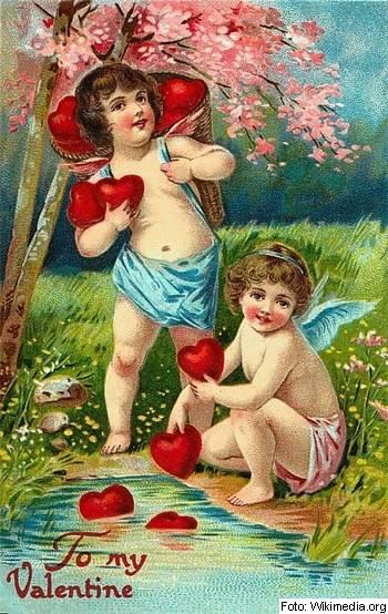 angel, Valentinovo, krščanstvo, tradicija