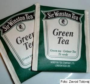 zeleni čaj v filter vrečkah